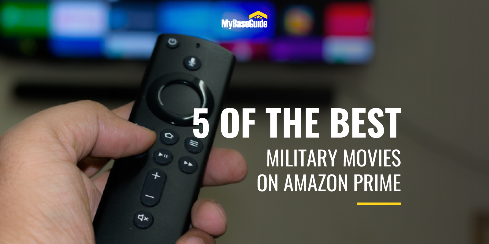 5 of the Best Military Movies on Amazon Prime
