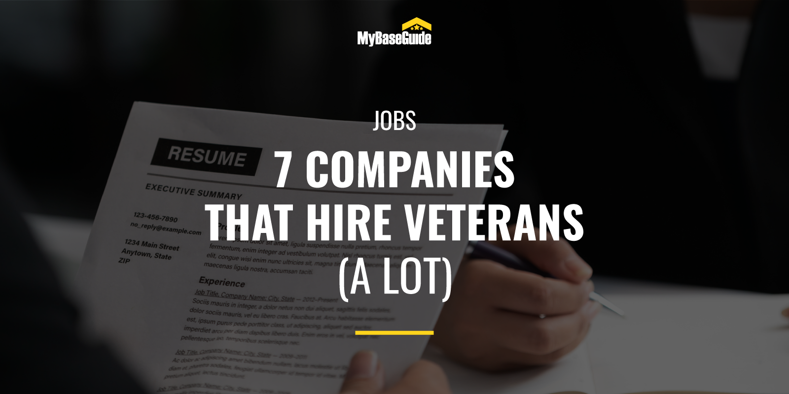 7 Companies that Hire Veterans (A Lot)