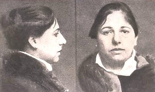 Mata Hari's mugshot.