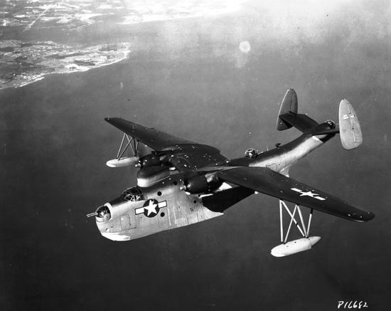 A US Navy Martin PBM Mariner.