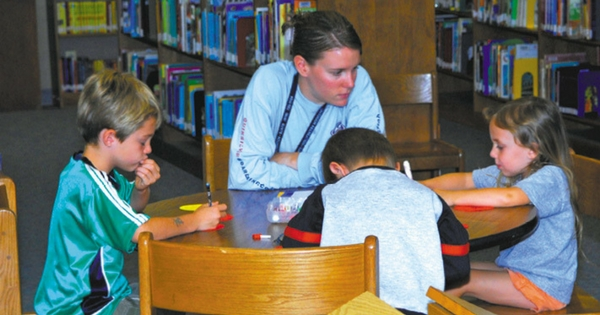 Minot AFB Education and Academics Libraries