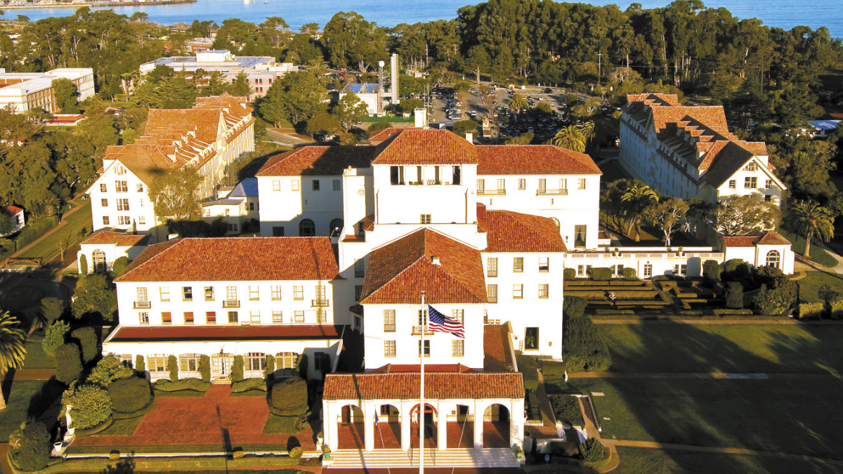 Monterey_2019 The Naval Postgraduate School AND Naval  Support Activity, Monterey History