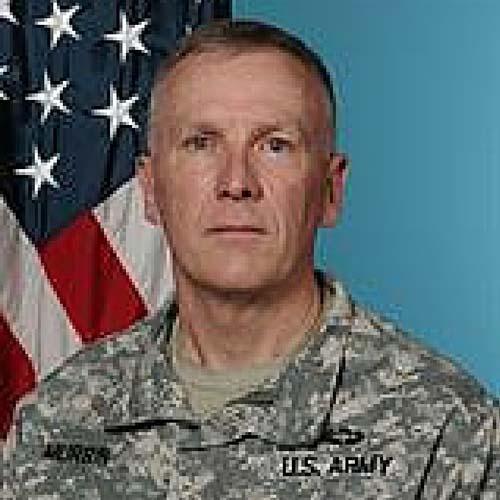 Command Sergeant Major James Murrin