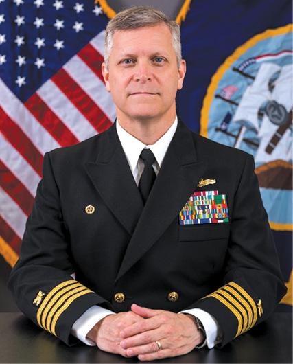 NSA Mechanicsburg Base Commander