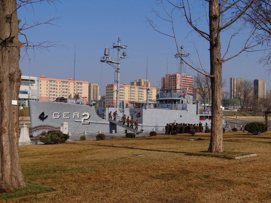 The USS Pueblo today.