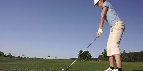 Hawaii Navy Golf Courses- Stock Photo