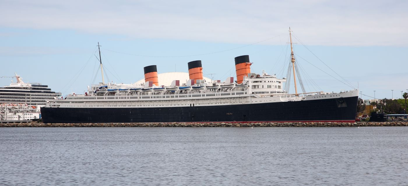The QM as she is today.