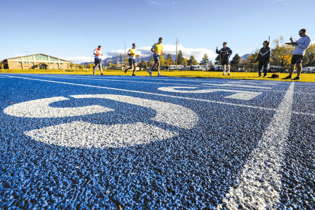 Running track, Hill Air Force Base