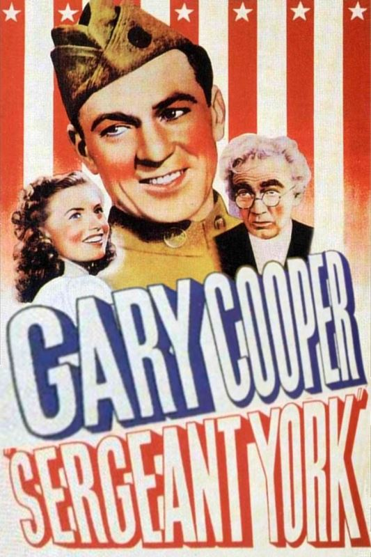Poster for the 1941 film Sergeant York.