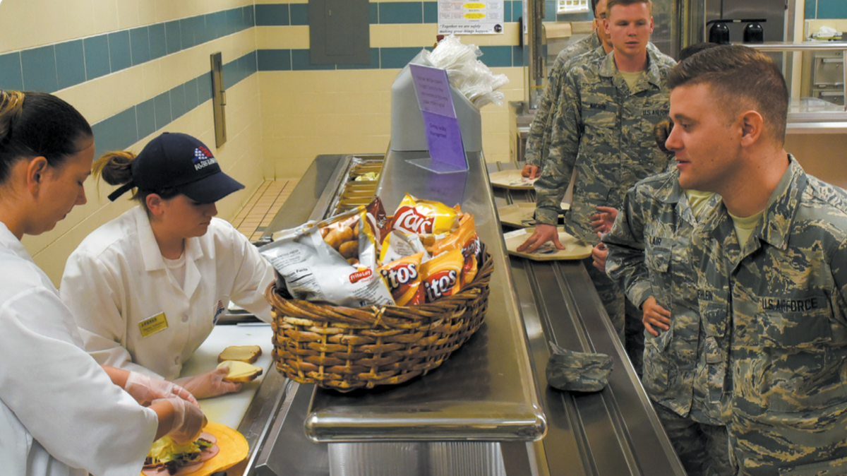 Seymour Johnson AFB Food