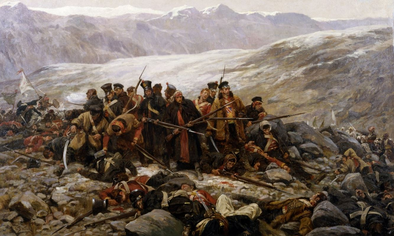 The Last Stand of the 44th Regiment at Gundamuck by William Branes Wollen.