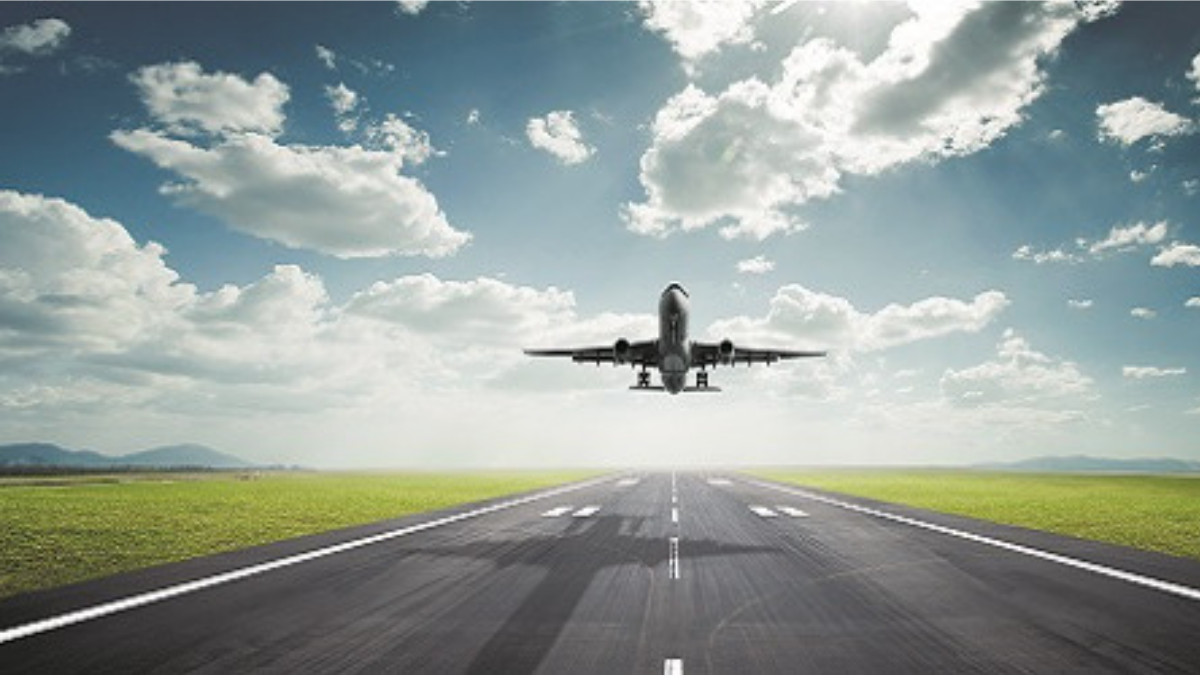 Wright Patterson Getting To and Around Airports - Stock Photo