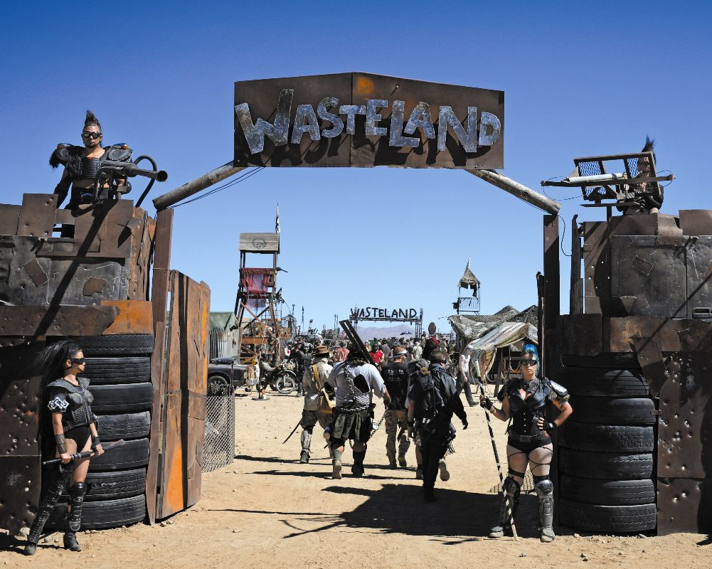 Wasteland Weekend, Edwards Air Force Base Antelope Valley and Local Area