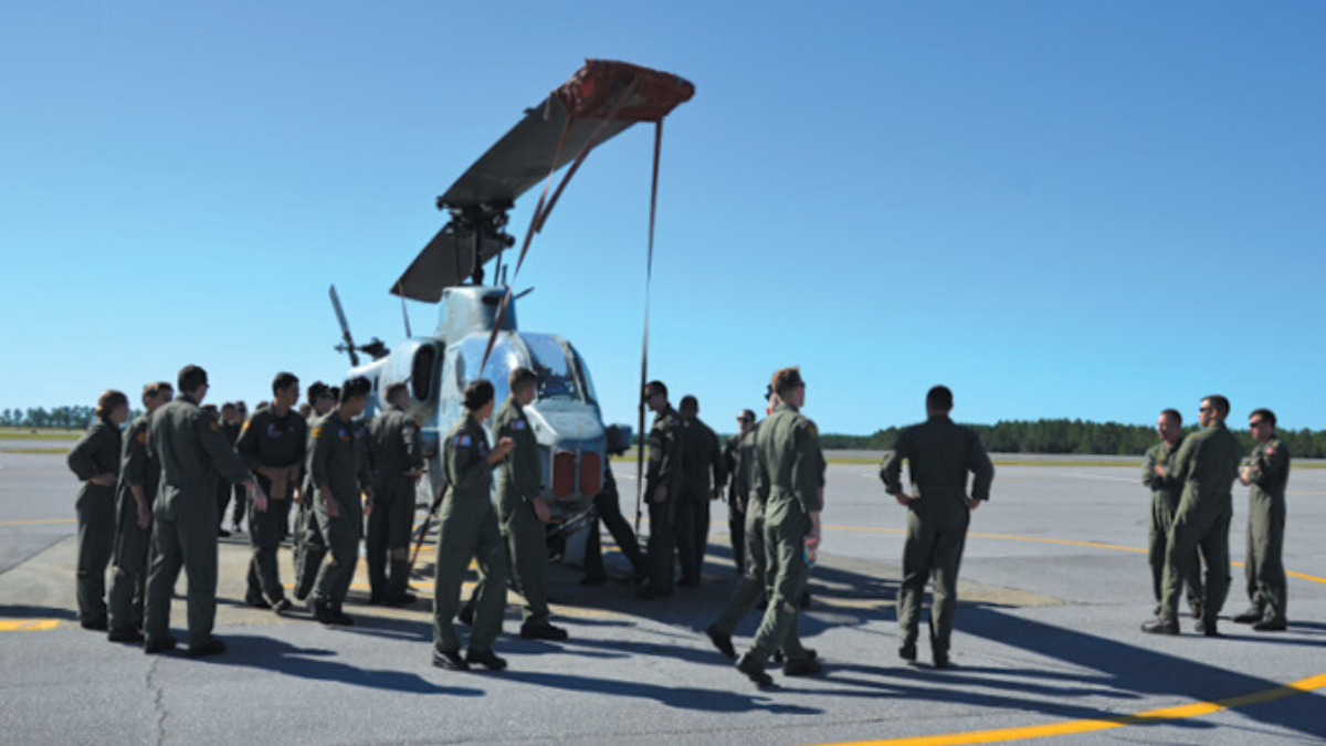 NAS Whiting Field Tenant Commands Helicopter Training
