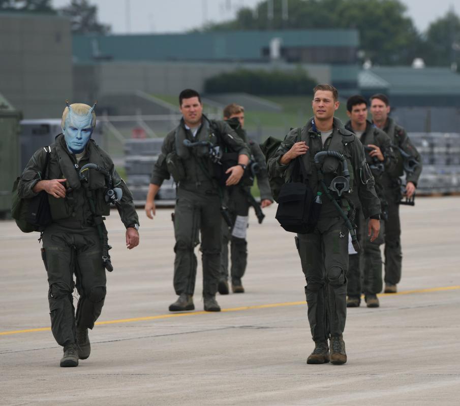 Area 51 mixed species squadron
