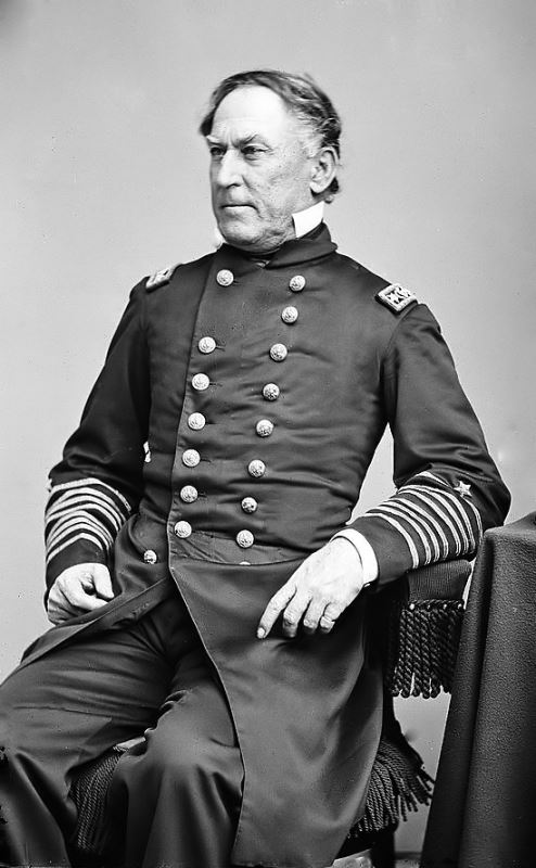 Photograph of Admiral David Farragut