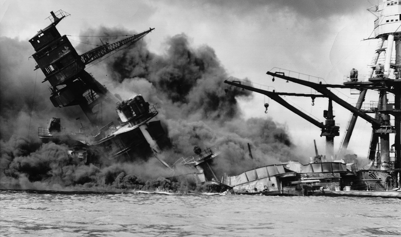 The Attack on Pearl Harbor.
