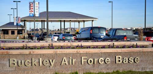 Buckley AFB Gate