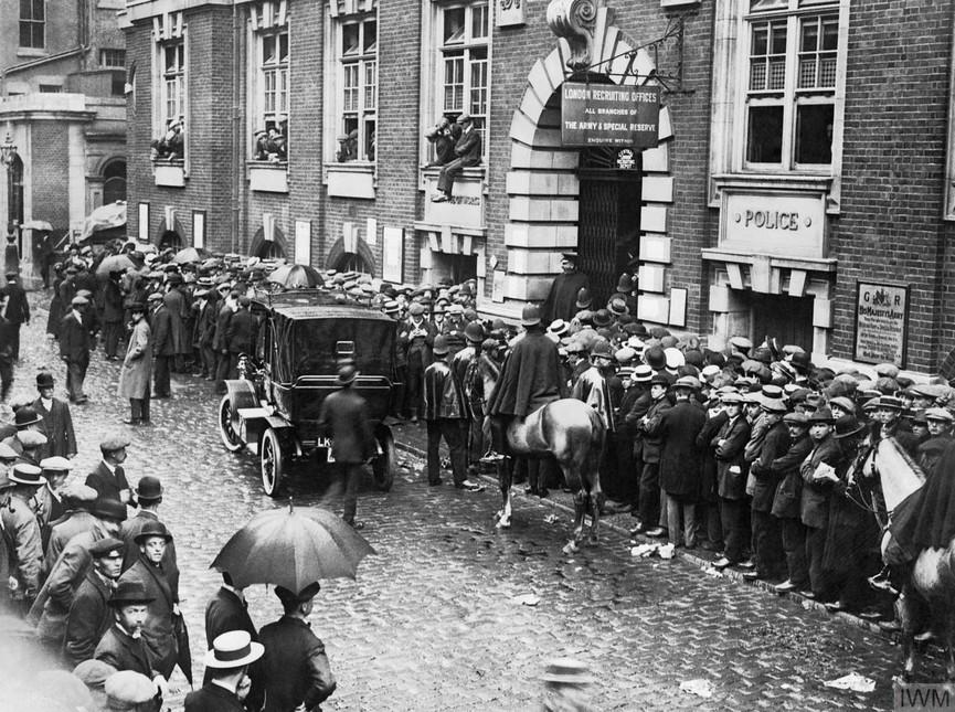 Scotland Yard during WWI.