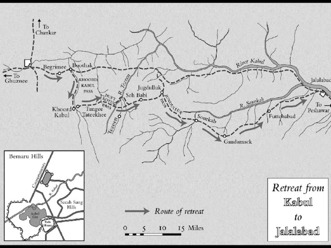 Map of the retreat.