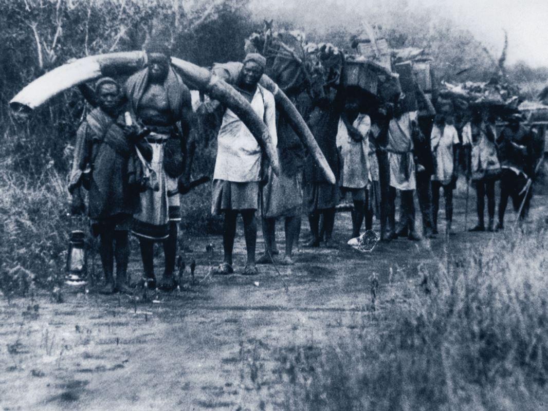 Zanzibarian slaves, late 1800's