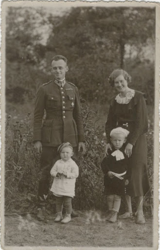 Witold Pilecki and family