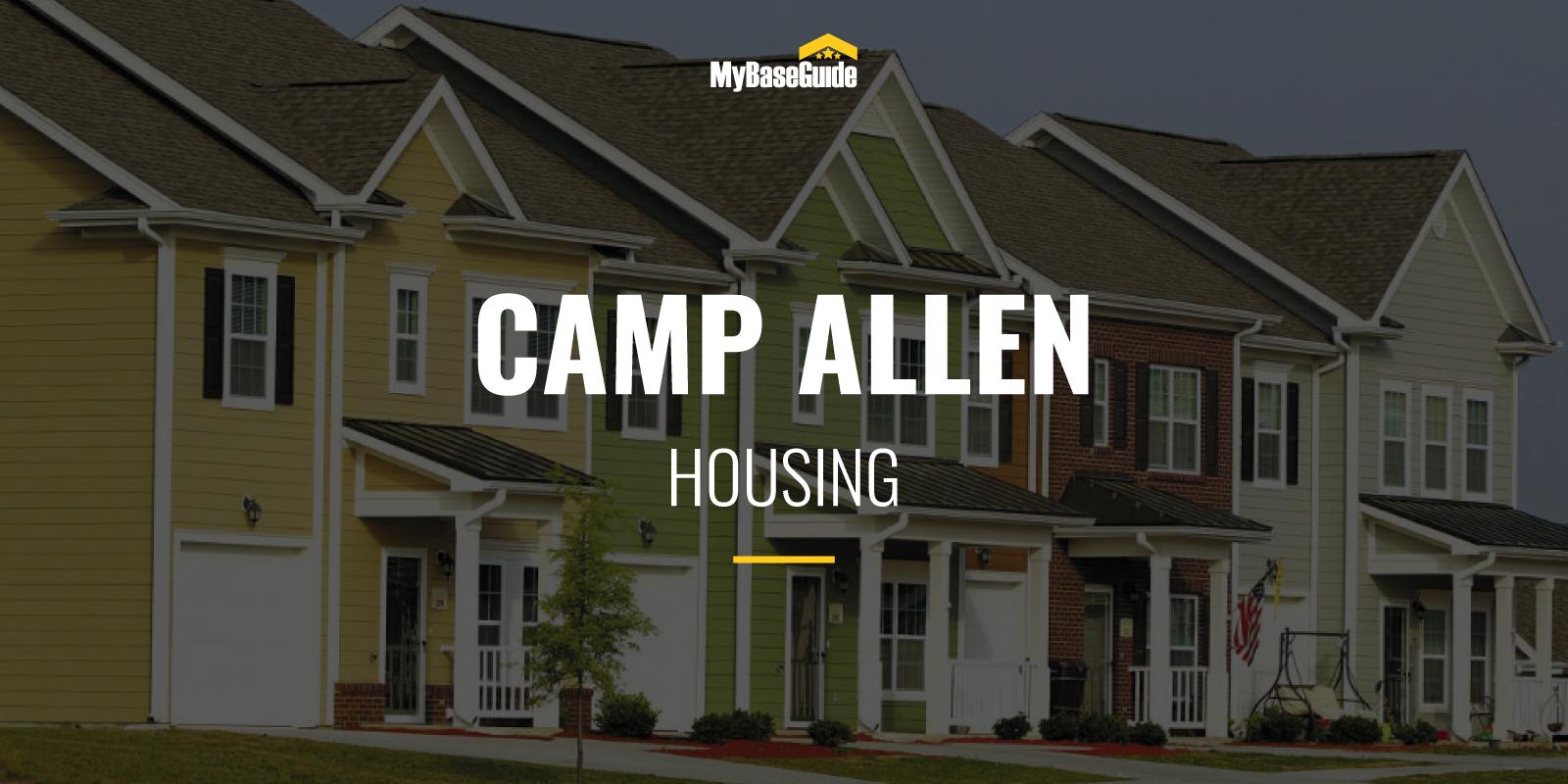 Camp Allen Housing