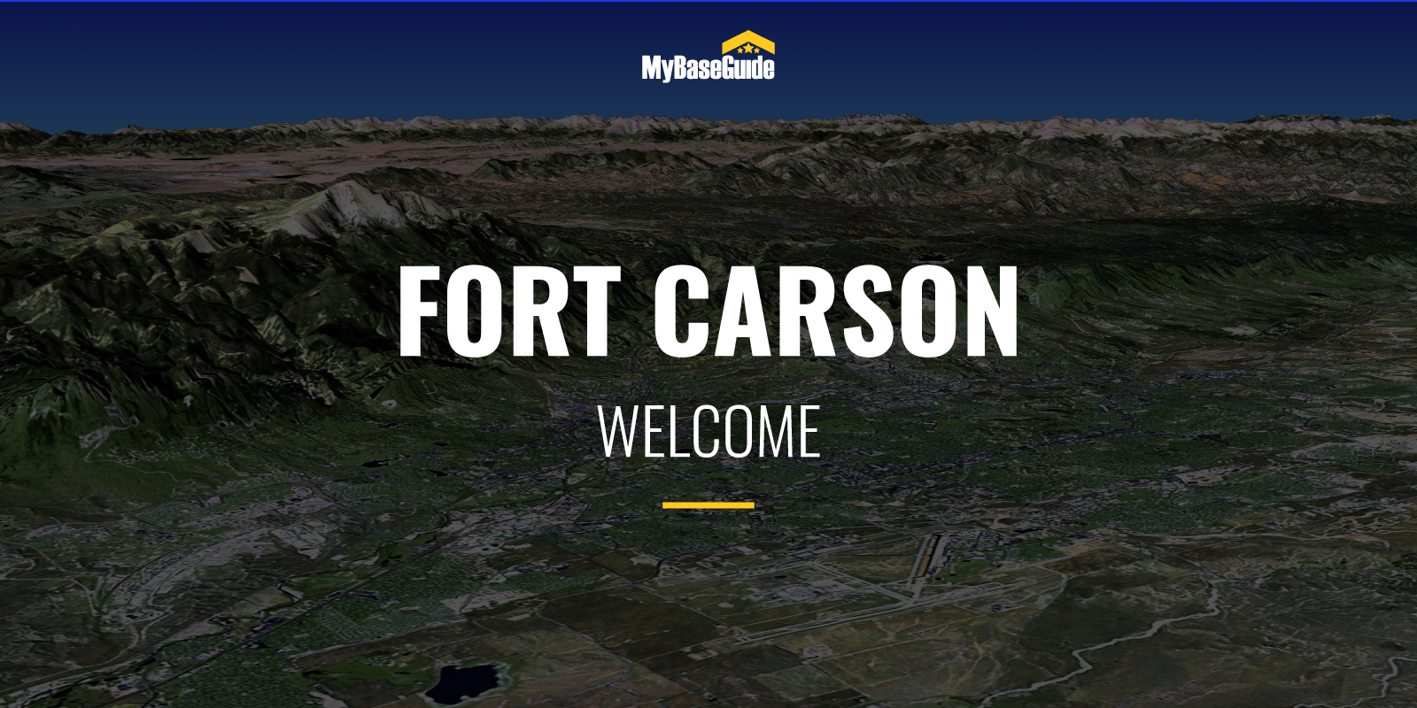 Welcome Fort Carson