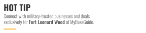 Connect with military-trusted businesses and deals exclusively at MyBaseGuide.