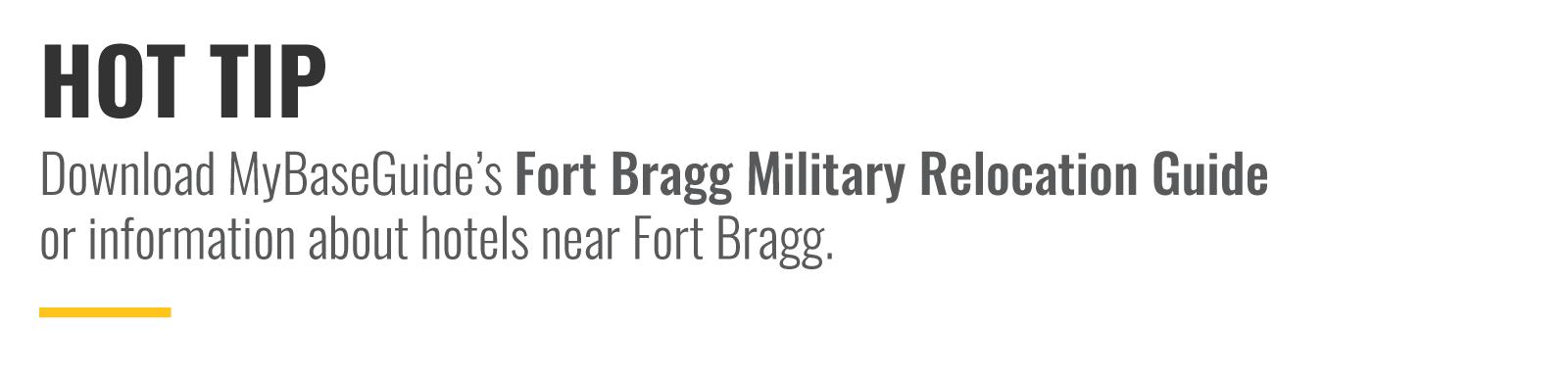Fort Bragg NC Hot Tip
