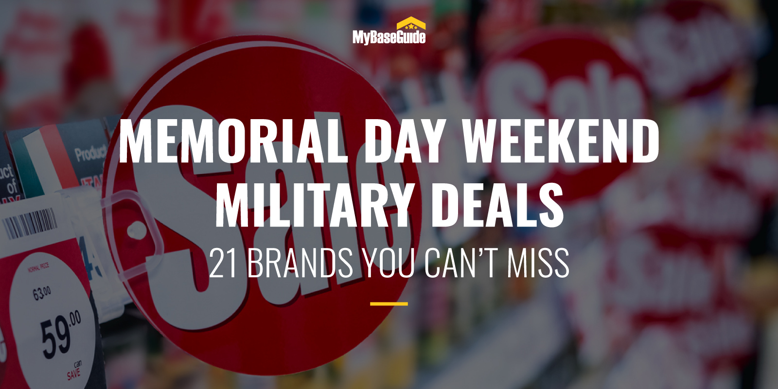 Memorial Day Weekend Military Deals: 21 Brands You Can't Miss