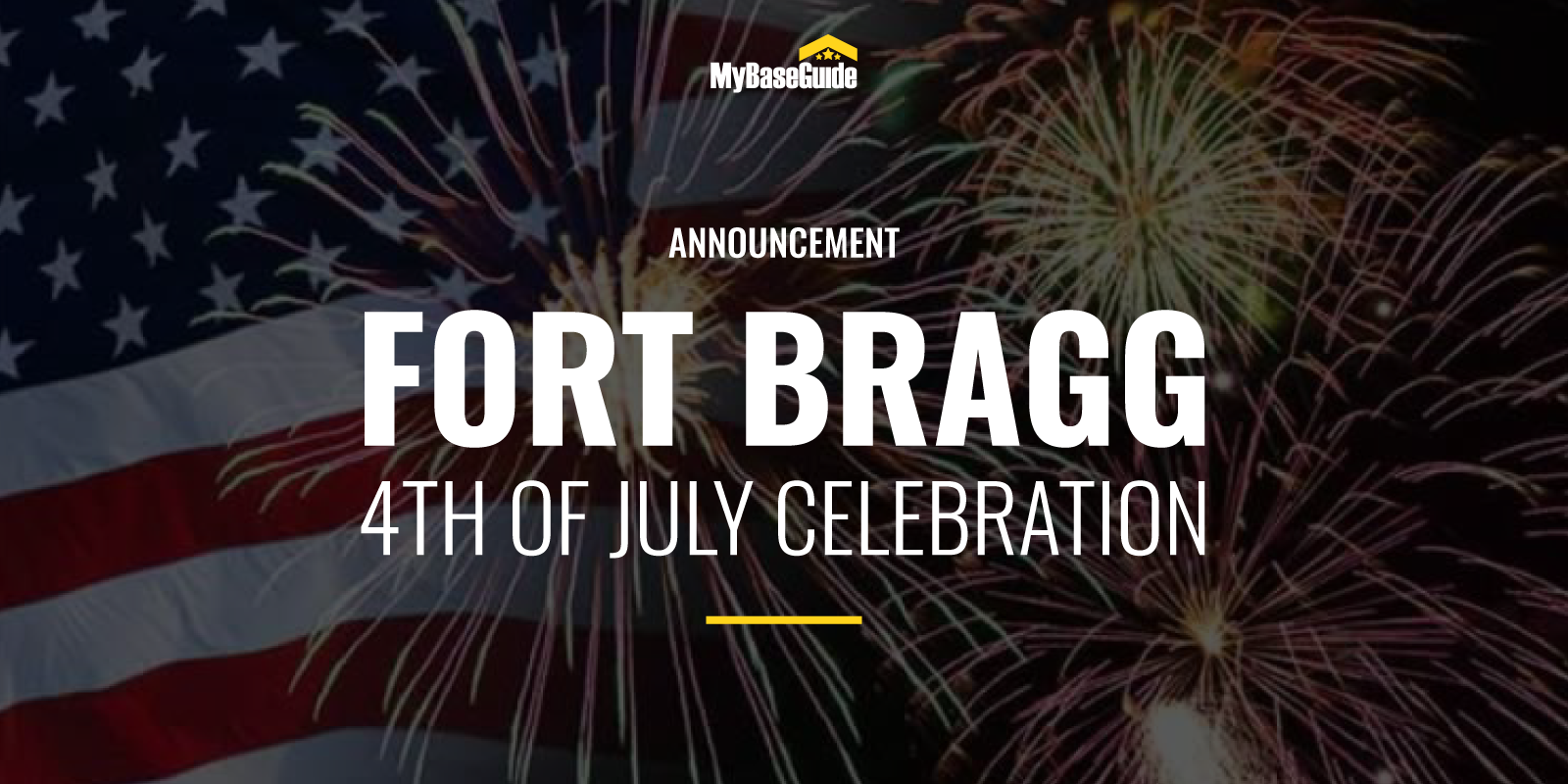 Fort Bragg 4th of July Event