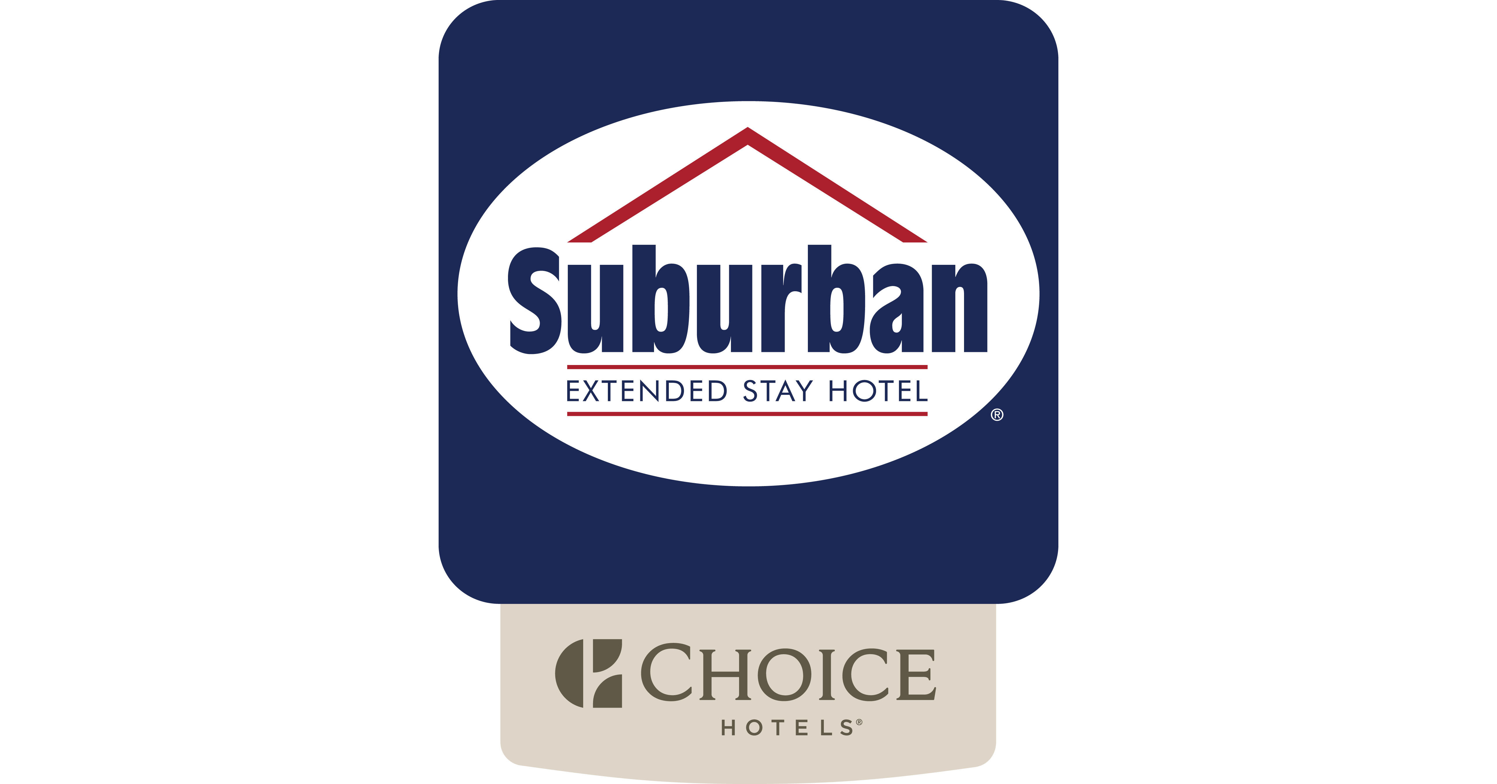 Suburban Extended Stay Hotel logo (PRNewsfoto/Choice Hotels International ...)