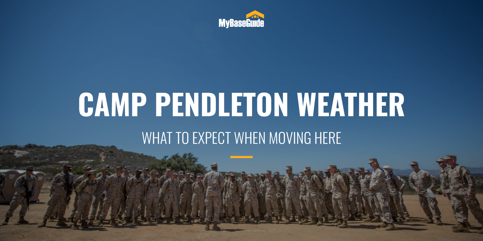 Camp Pendleton Weather