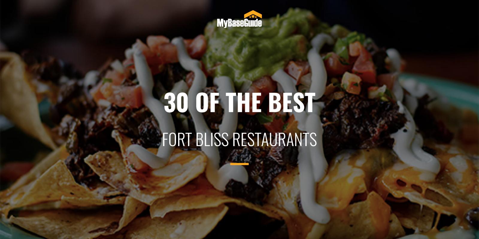 Best Restaurants Fort Bliss