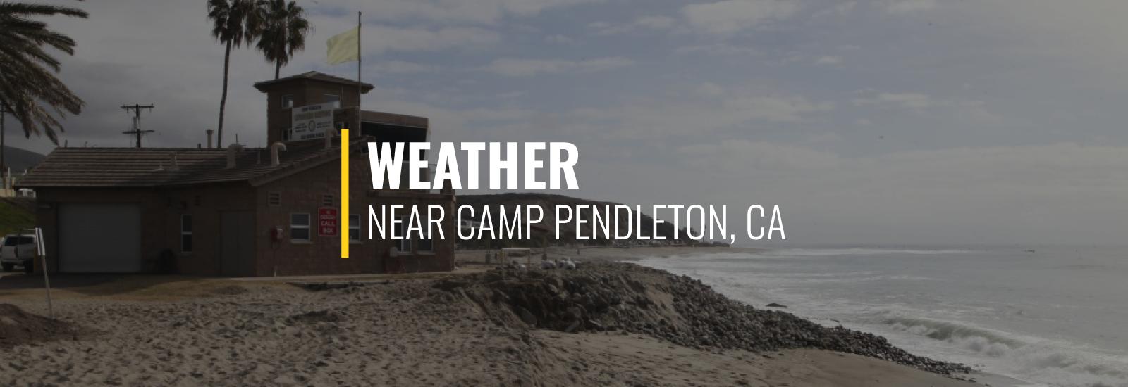 Camp Pendleton California Weather