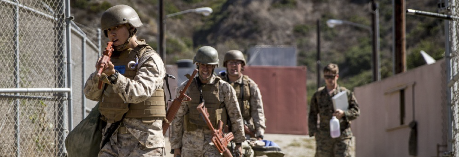 Field & Training Expectations Year-Round at Camp Pendleton