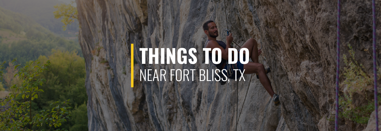 Things to Do on Fort Bliss