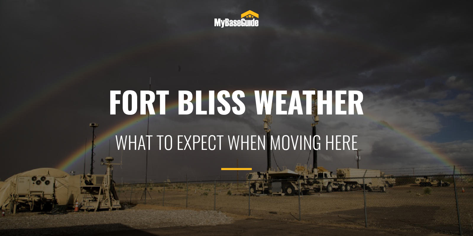 Fort Bliss Weather