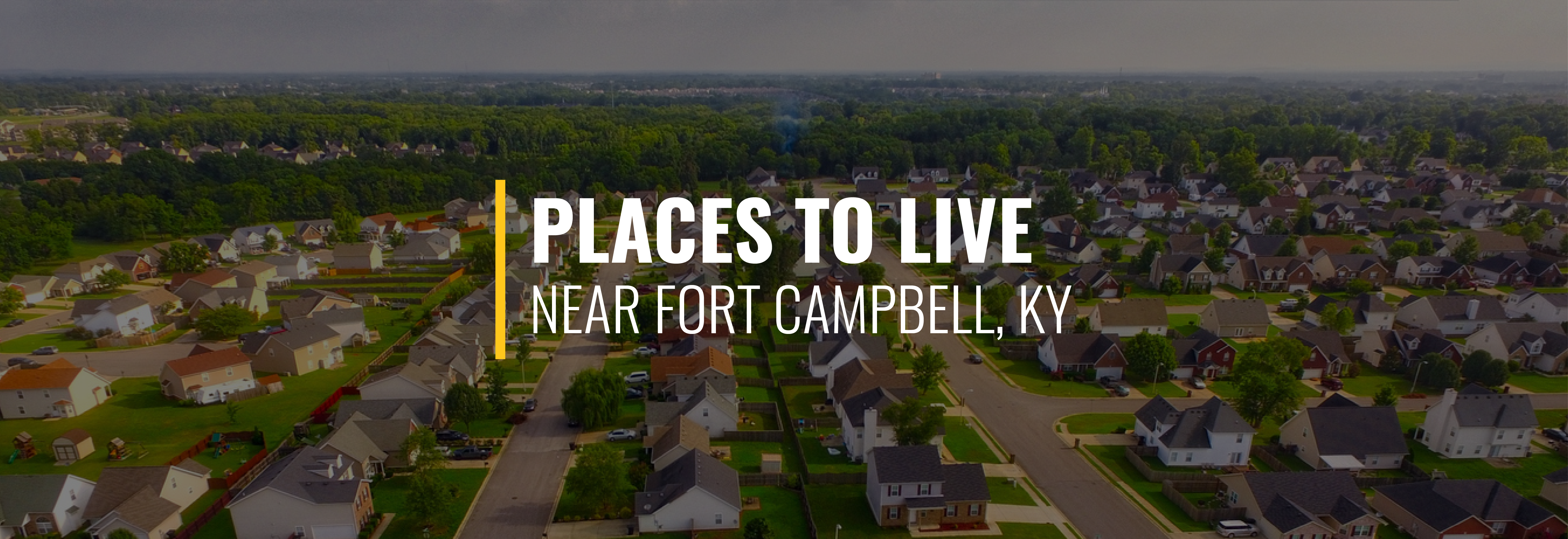 Where Should I Live Near Fort Campbell?