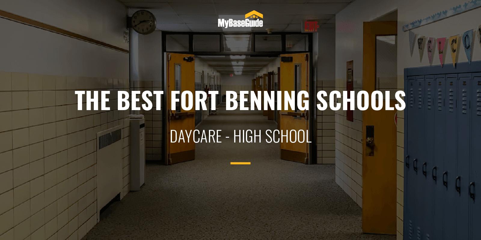 Best Schools Fort Benning