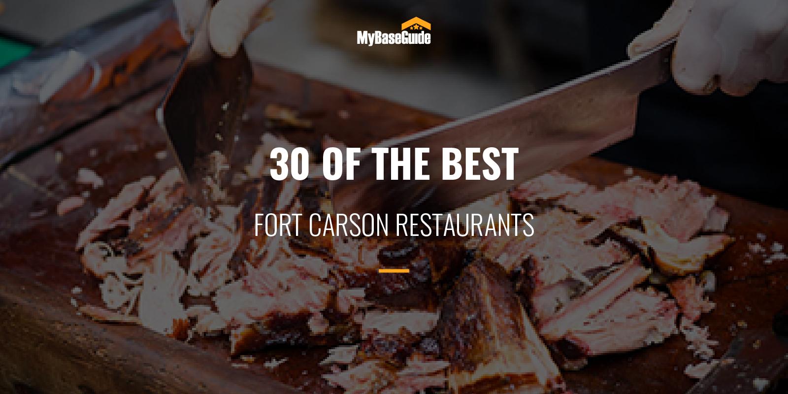 Fort Carson Best Restaurants