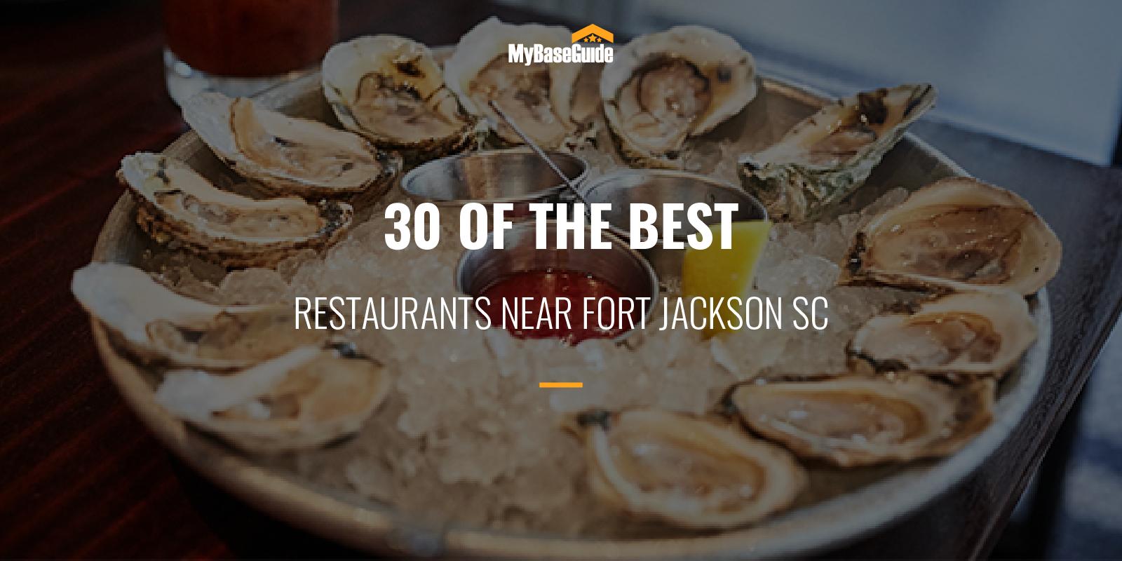 Best Restaurants Fort Jackson