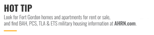 Look for Fort Gordon homes and apartments for rent or sale