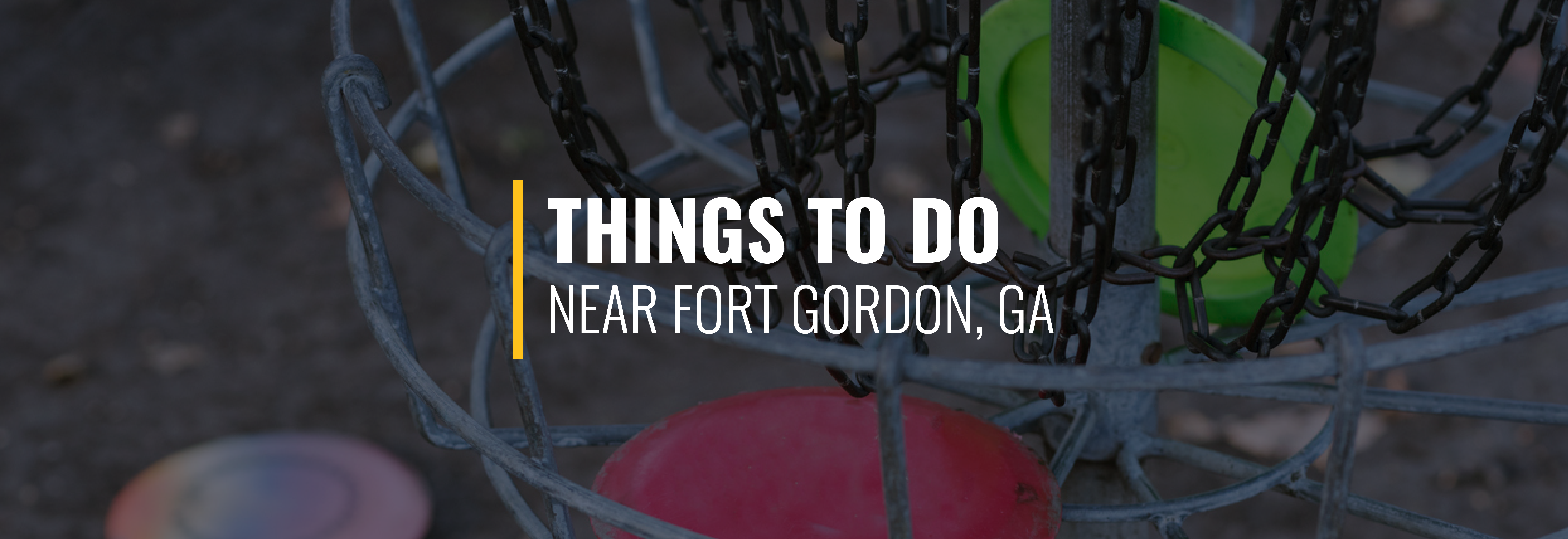 Things to Do At Fort Gordon