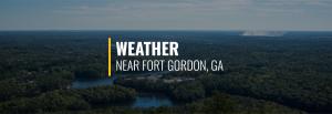 Fort Gordon Weather