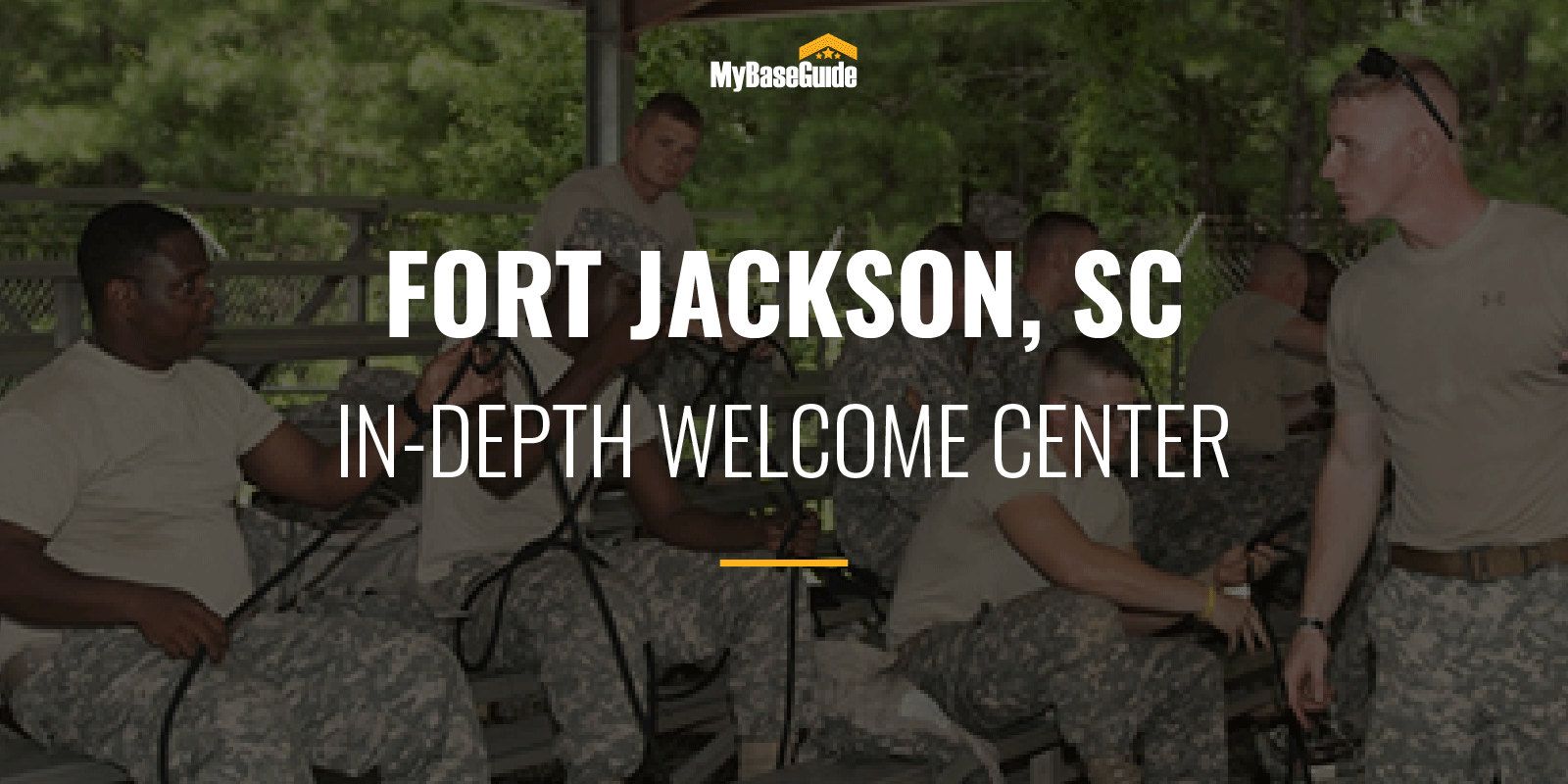 Fort Jackson In-Depth Welcome Center