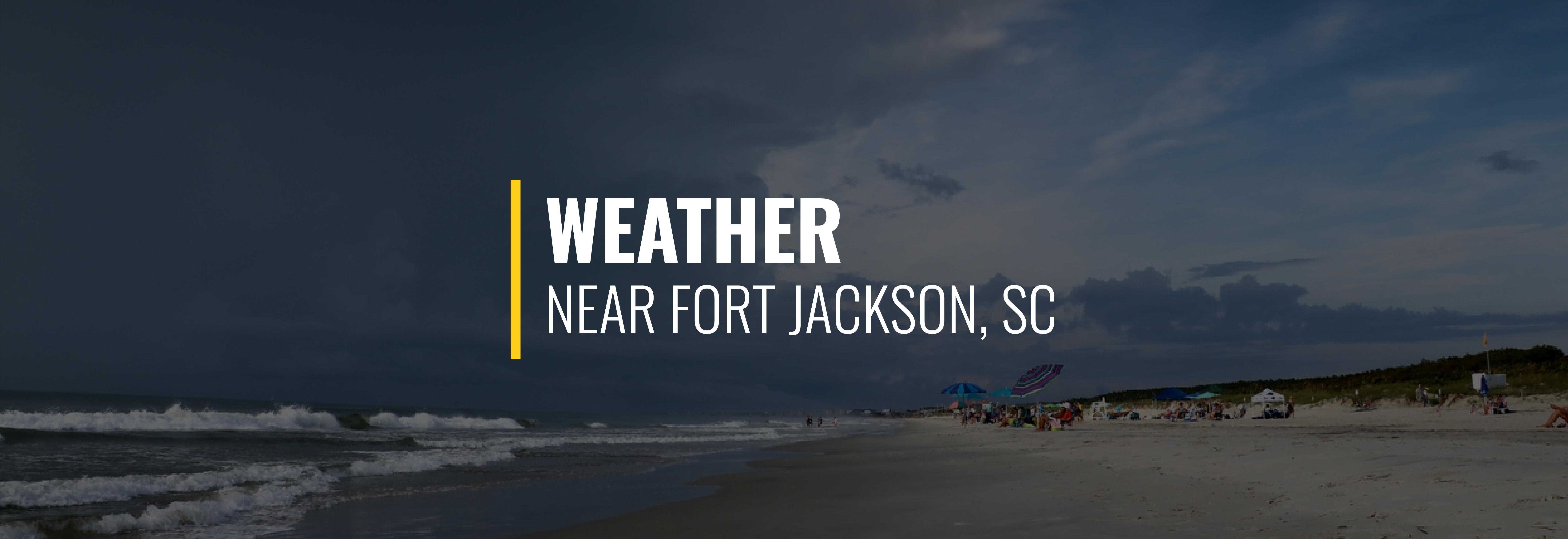 Fort Jackson SC Weather