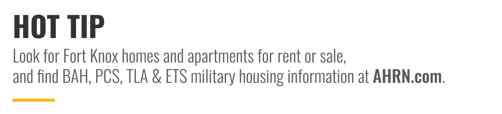 Look for Fort Knox homes and apartments for rent or sale