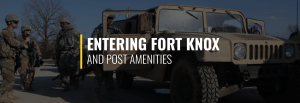 Entering Fort Knox